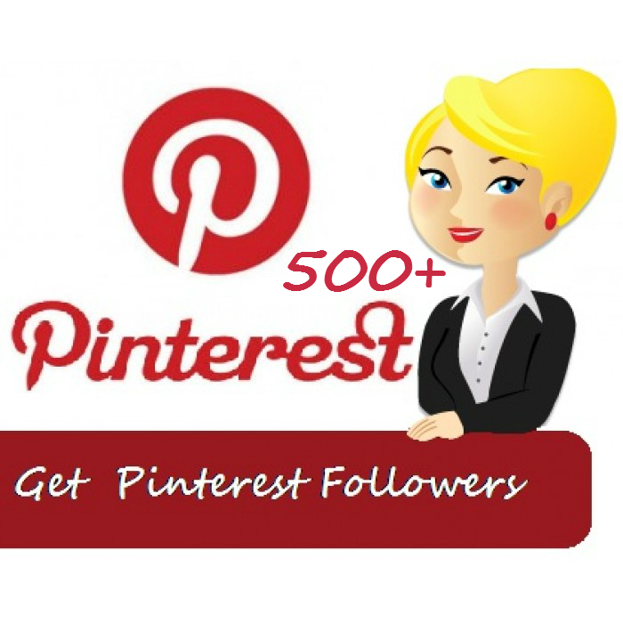 give 500+ Pinterest Followers