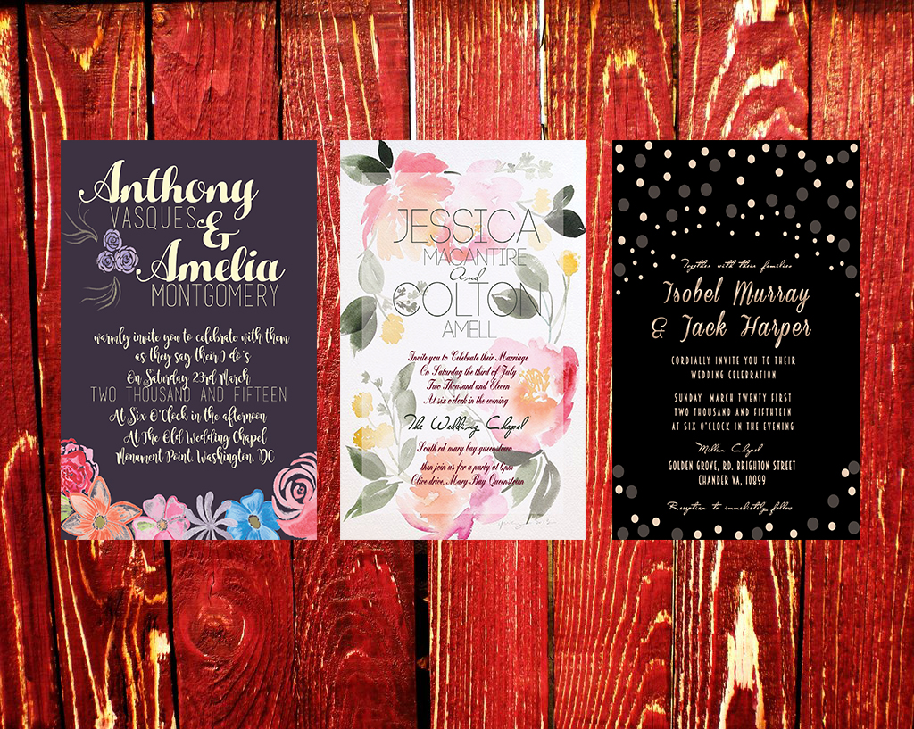 Create Beautiful Wedding Invitations