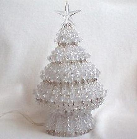 make a beaded Christmas Tree