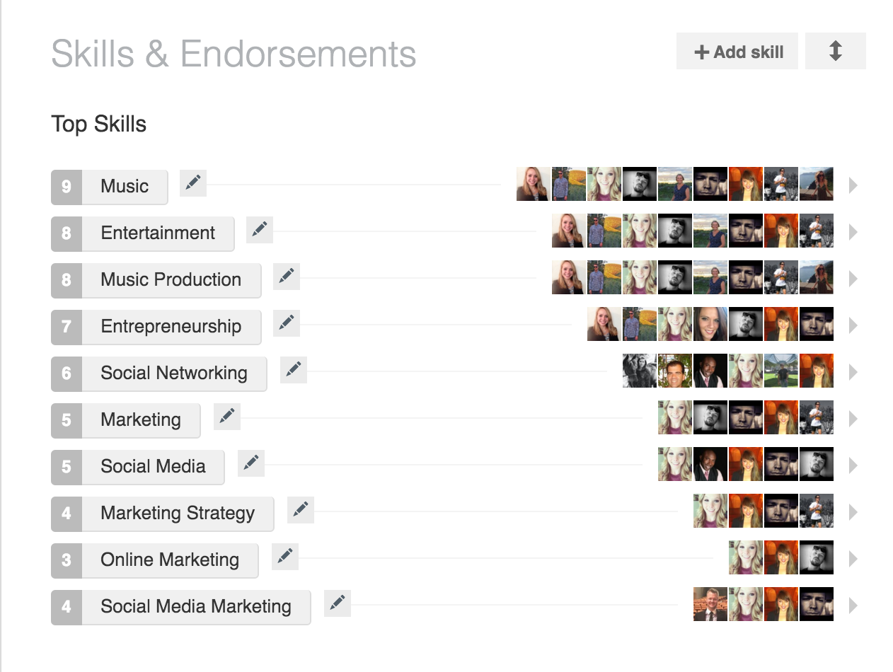 endorse and recommend you on Linkedin