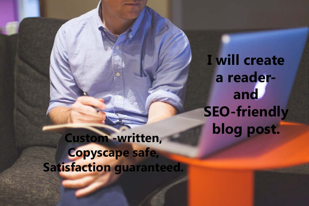 write an SEO friendly blog post