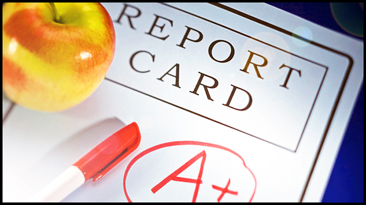 write your ESL report cards