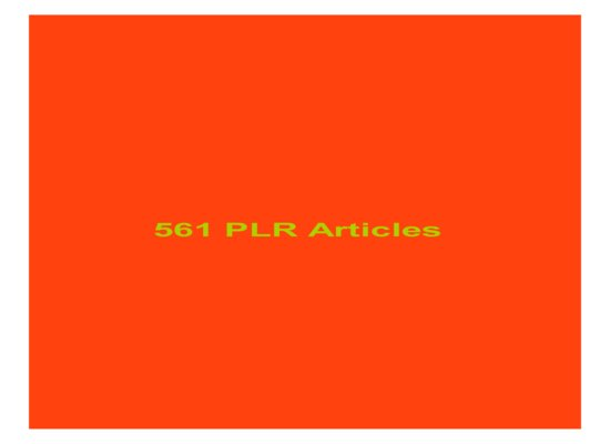give 562 PLR Articles