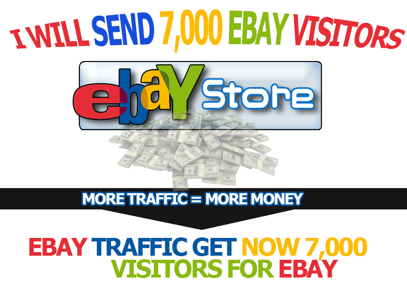 send 7,000 EBAY visitors to your website