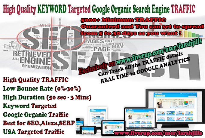 drive Keyword Targeted TRAFFIC