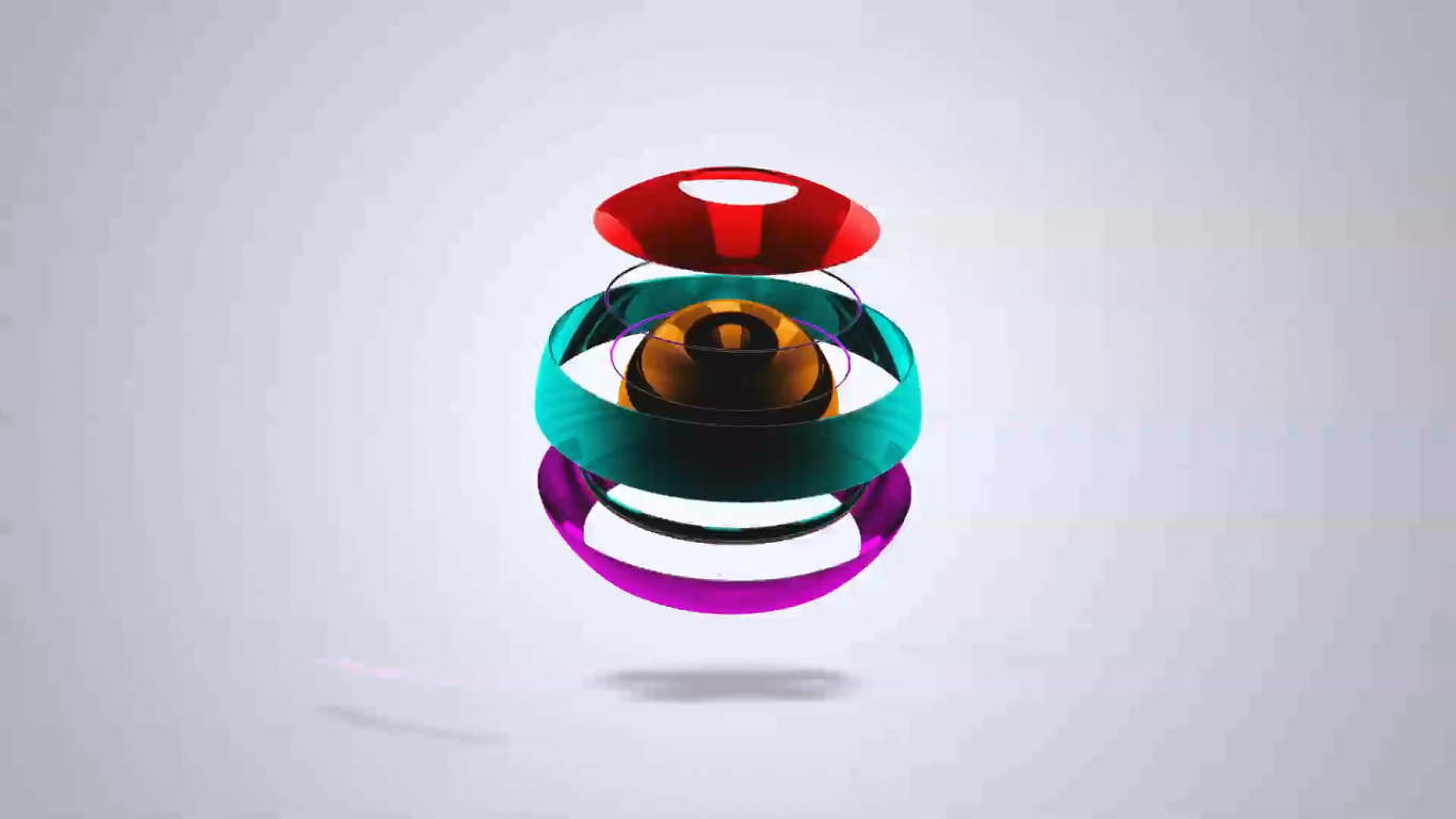 Design five 3D BALL Animation Logo reveal HD for your Logo