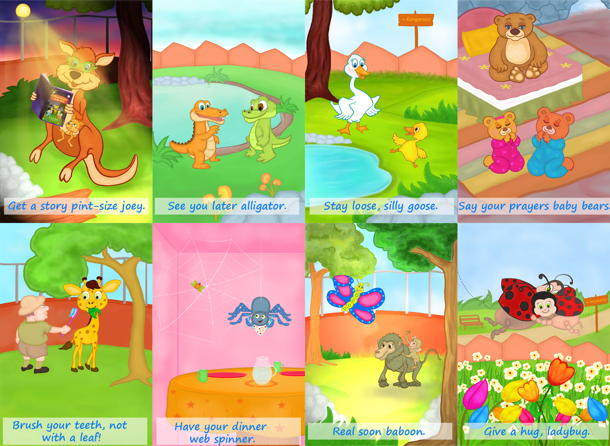 create a FULL COLORED single page CHILDREN BOOK ILLUSTRATION