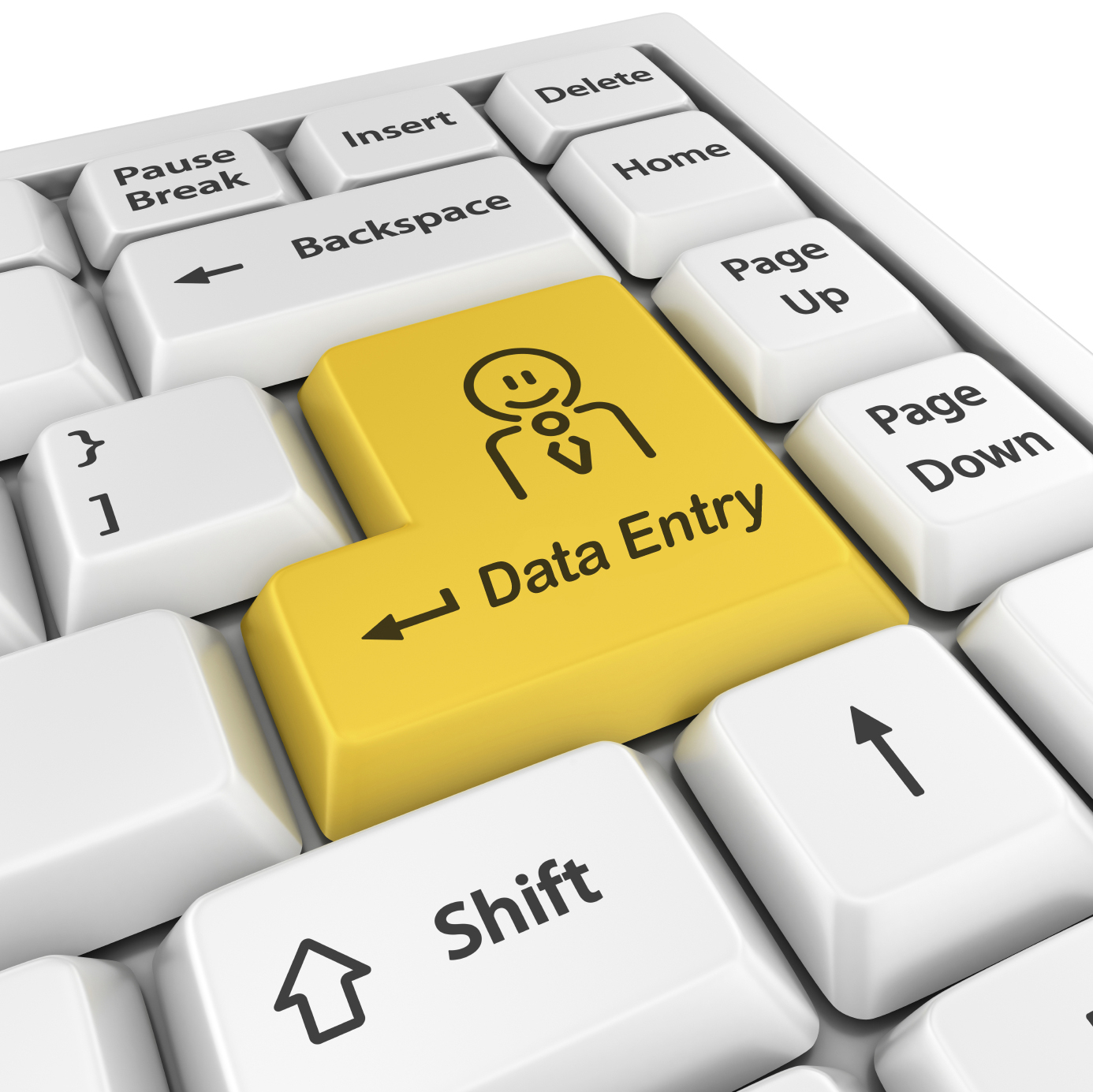 do any Data Entry work