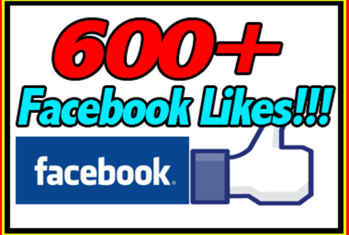 give you 600 fanpage likes