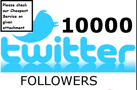 add 1000 real Twitter Followers