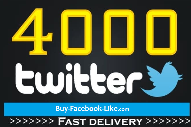 add 4000 real twitter Followers