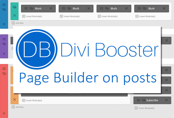 give you Divi Booster plugin
