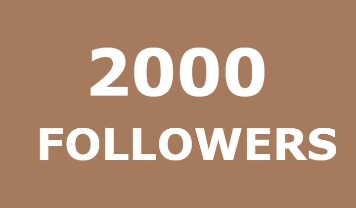2000 instagram followers or 25000 likes