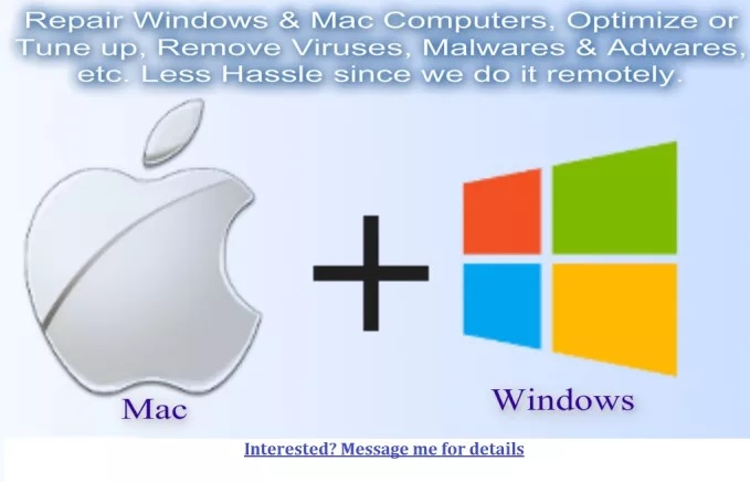 repair Windows and Mac Computers Remotely