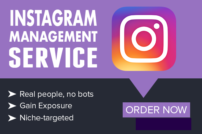 provide Social Media Management on Instagram