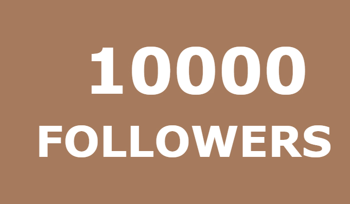 10000 instagram followers or 100k instagram likes