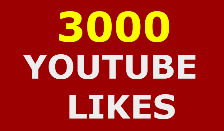 3k 3000 Real Youtube Likes