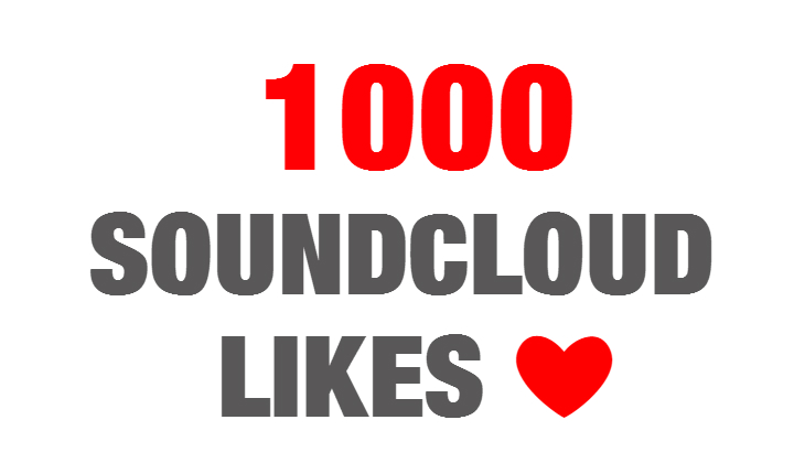 1000 Soundcloud Likes