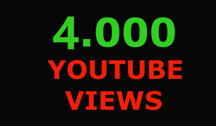 6000 Youtube views