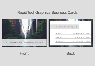 Design A Modern Business Card