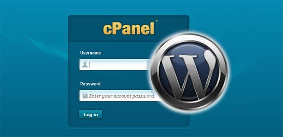 Install wordpress and database
