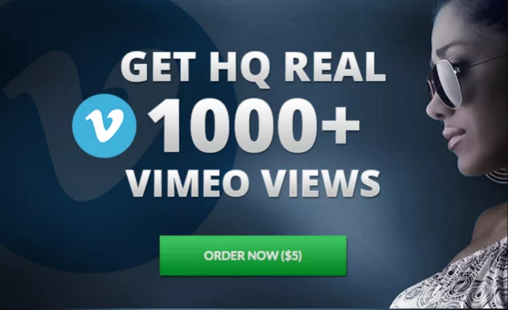 Provide you 1000 VIMEO VIDEO VIEWS