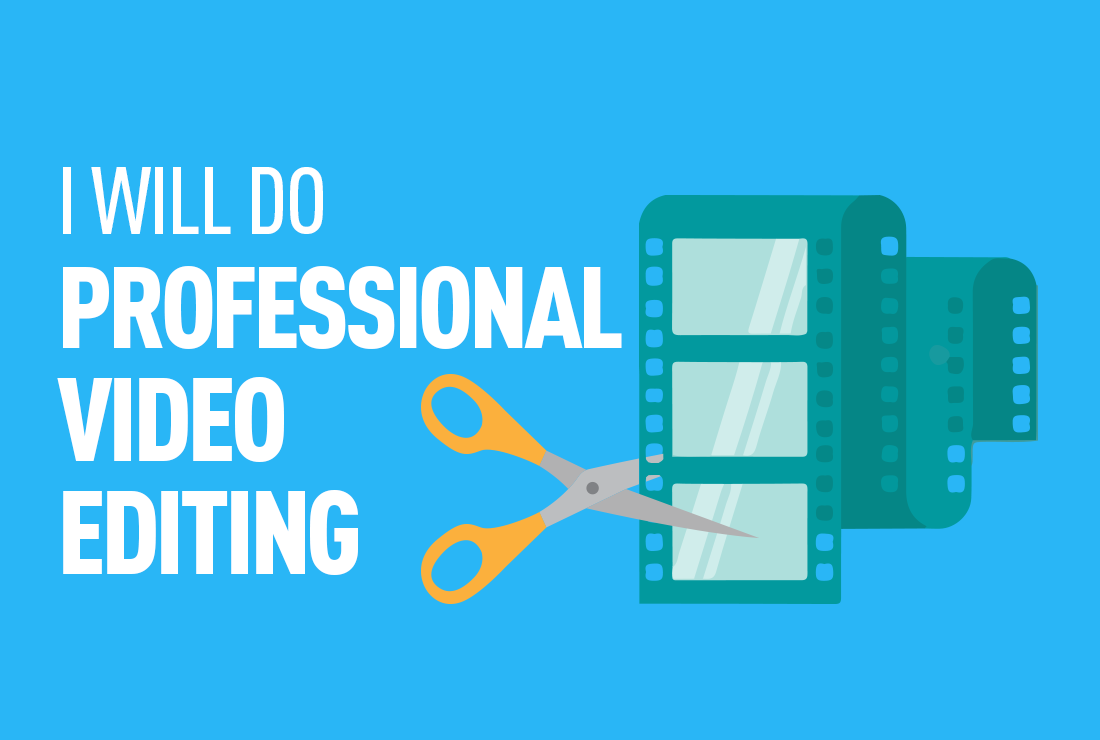 Will Do Professional Video Editing