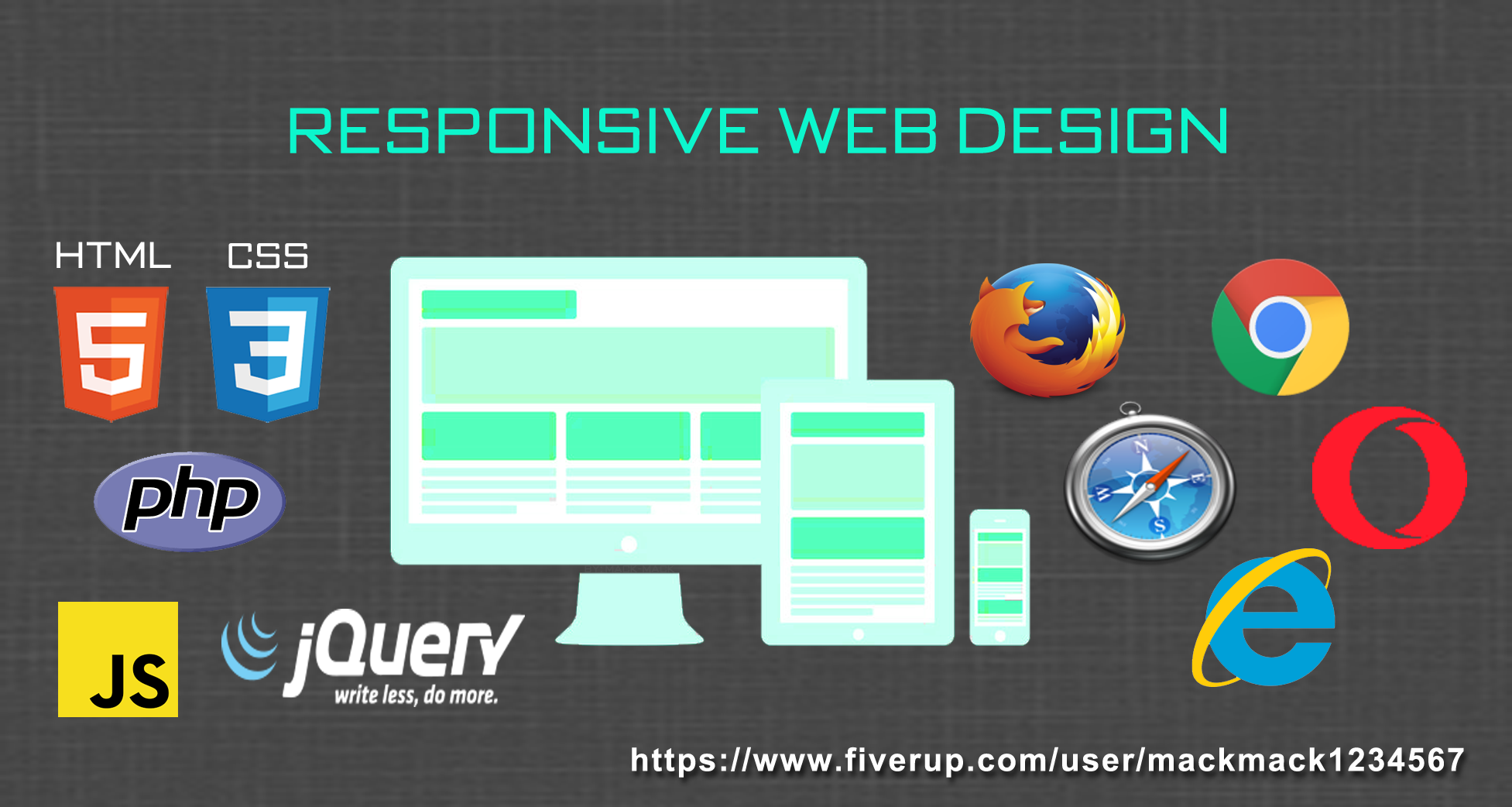 create Responsive Web Design