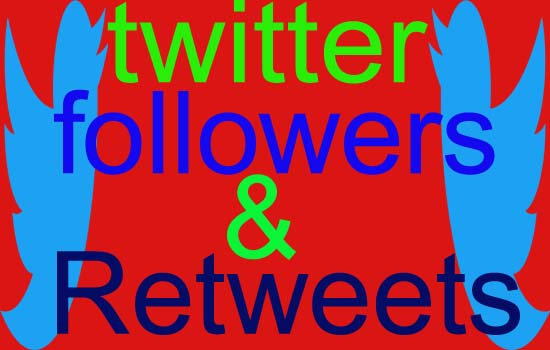 give you 1000+ twitter followers and 500 Retweets