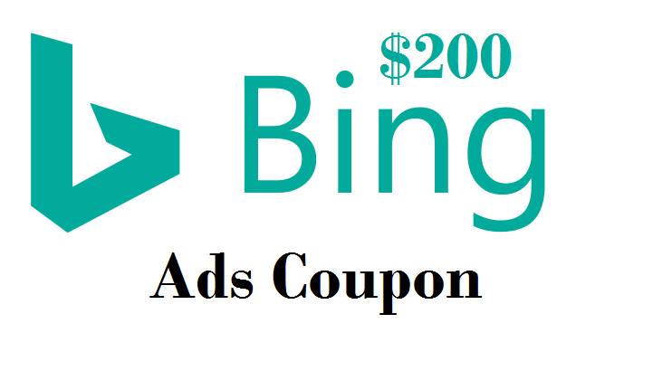 bing ads voucher 200 usd