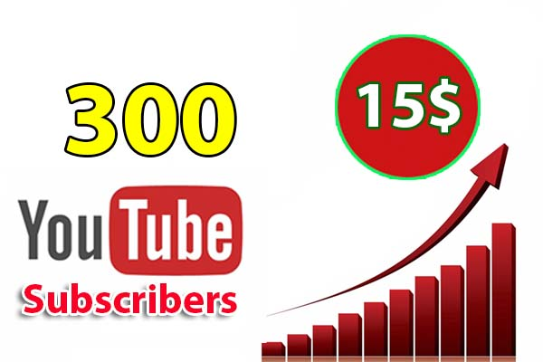 Give You 300 Real you tube Subs INSTANT - 60 DAYS GUARANTE