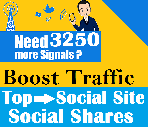 Top 5 Social Platform 3250 PR9 Social Signals Important SEO Ranking Factors