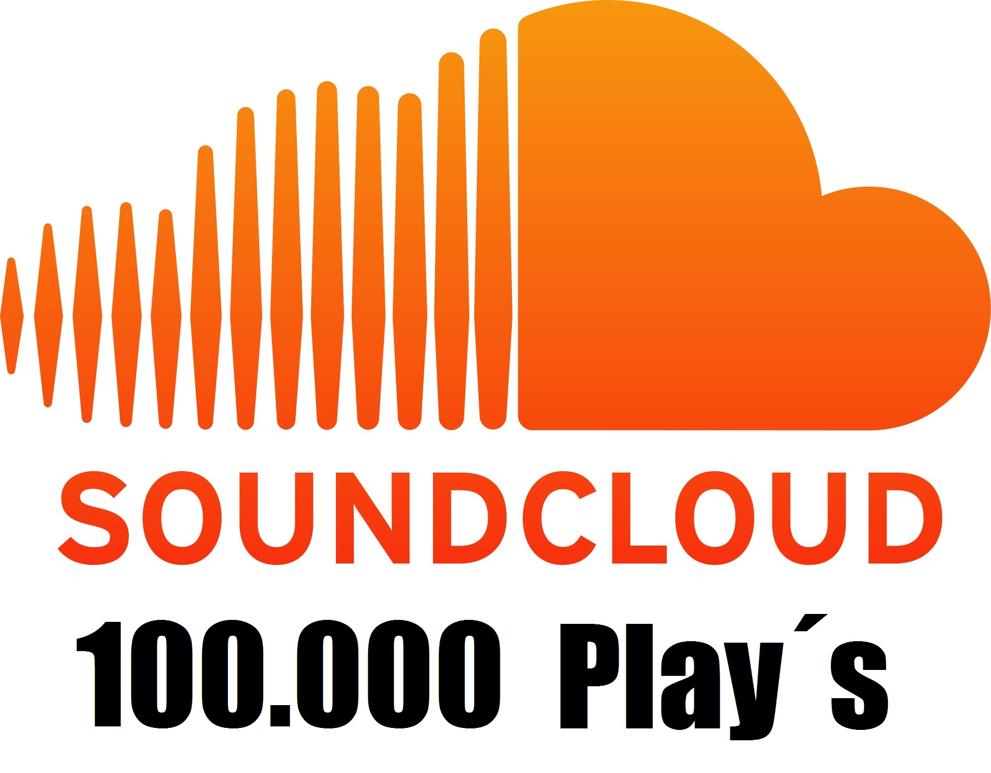 100,000 Soundcloud Plays + 50 Likes + 30 Comments