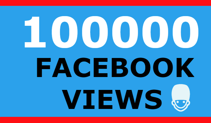 100000 FACEBOOK VIEWS