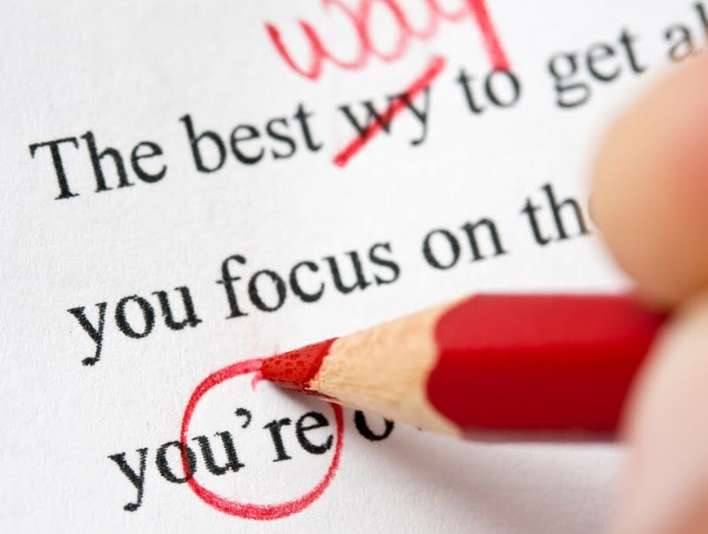 Proofread essays and stories