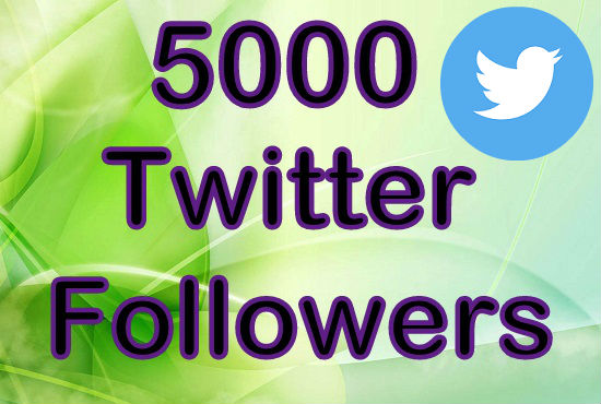 give you 5000 twitter followers