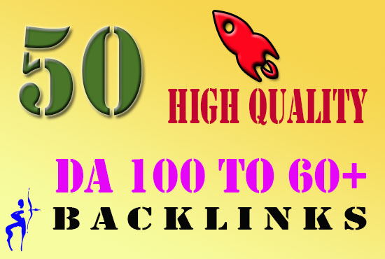 Do 50 Dofollow Backlinks with DA 100-60