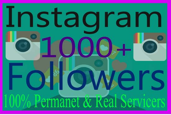 provide 1000+ HQ instagram followers