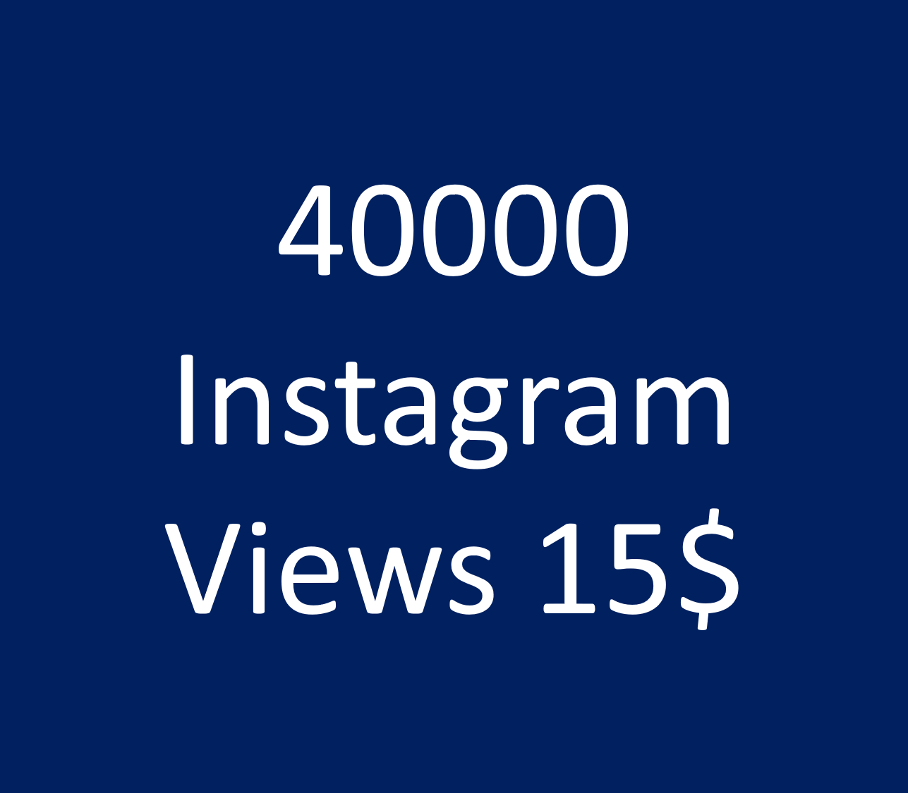 add 40,000+ Instagram Video Views