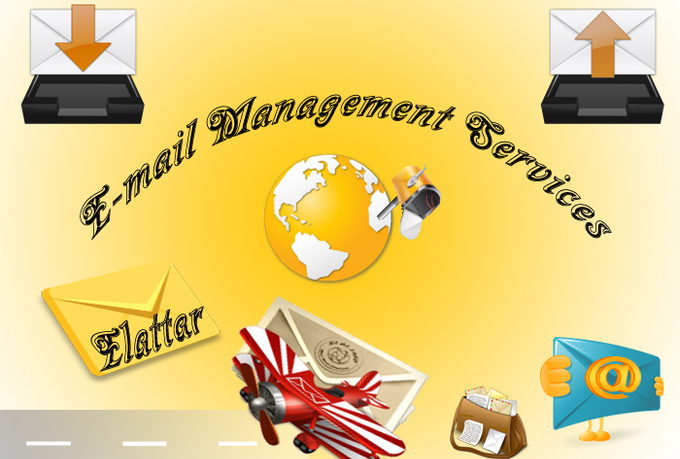 do 4 hrs email management services just