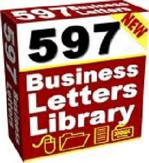 give you 597 Business Templates / Letters / Documents