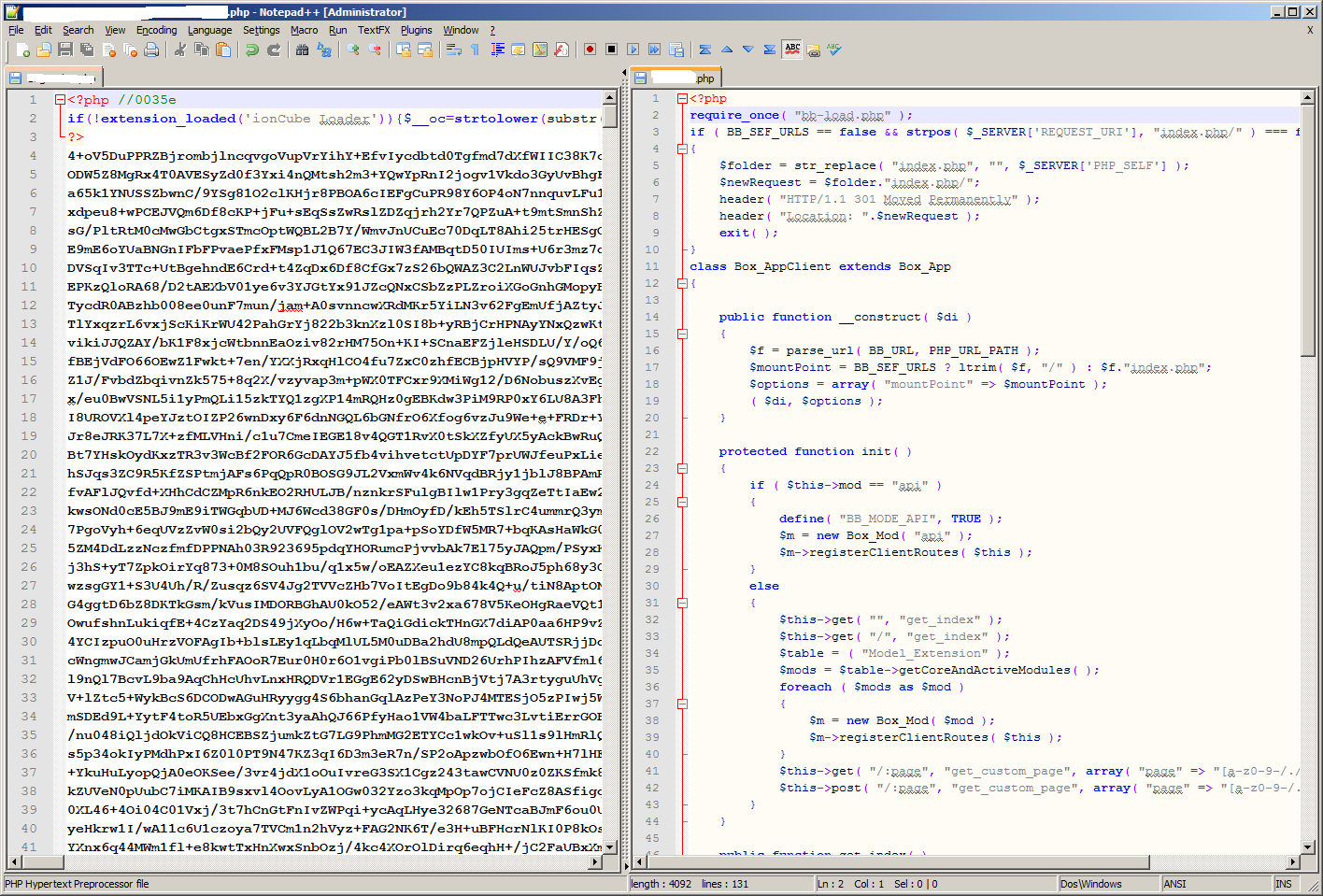 decode / decrypt ANY php file