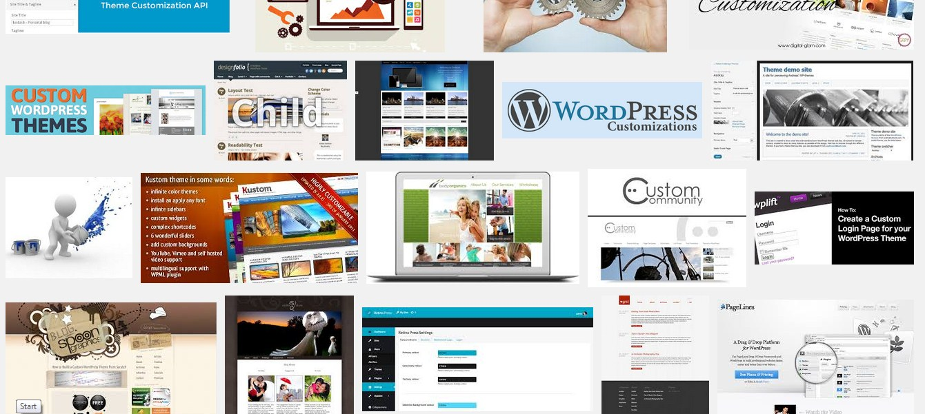 customize WordPress Premium Or Free Theme