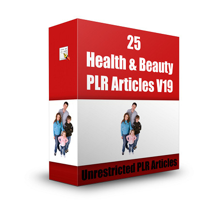 give 25 Health & Beauty PLR Articles V19