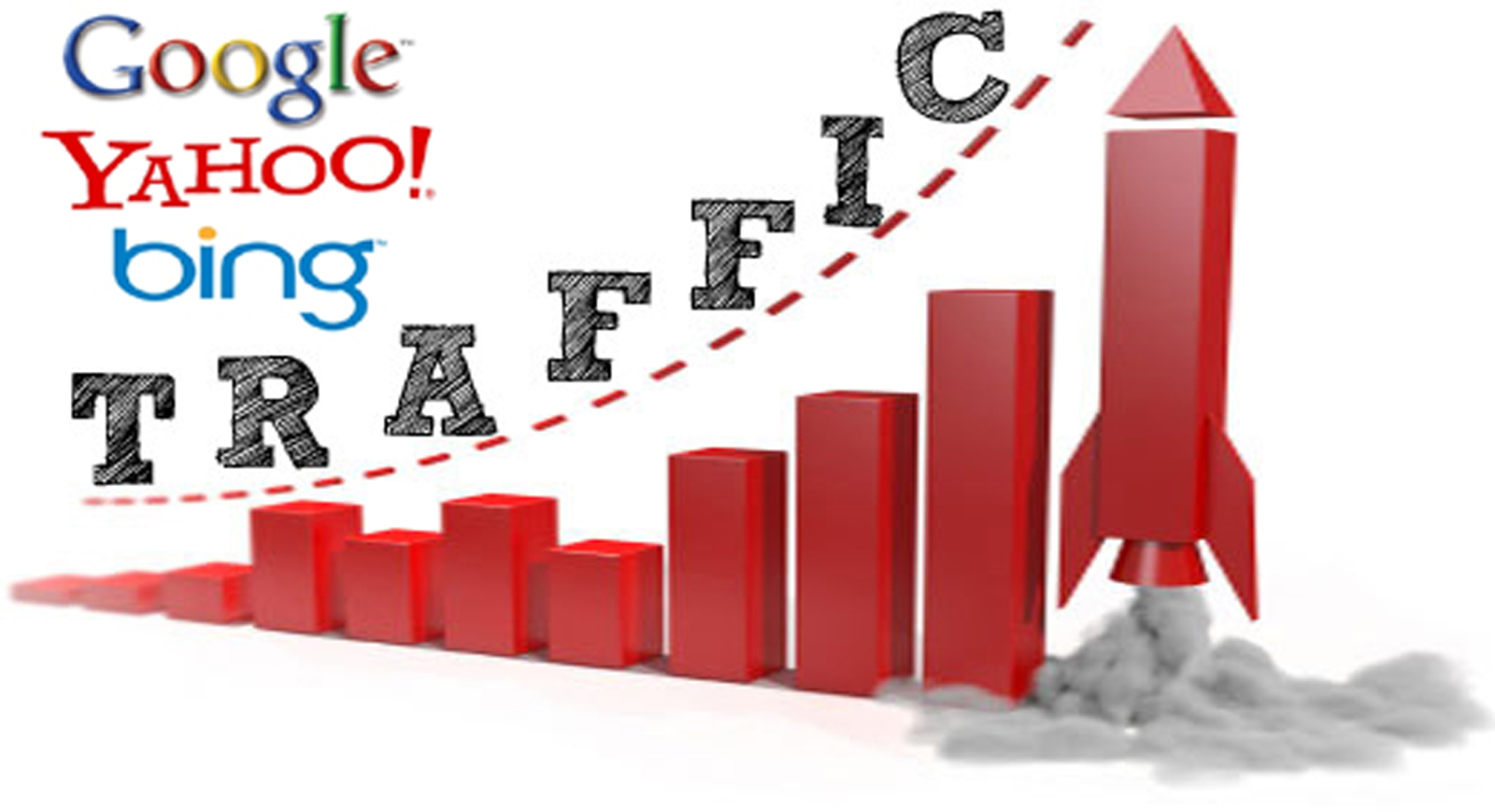drive UNLIMITED Human traffic from(google,facebook,etc) to your website for one month.