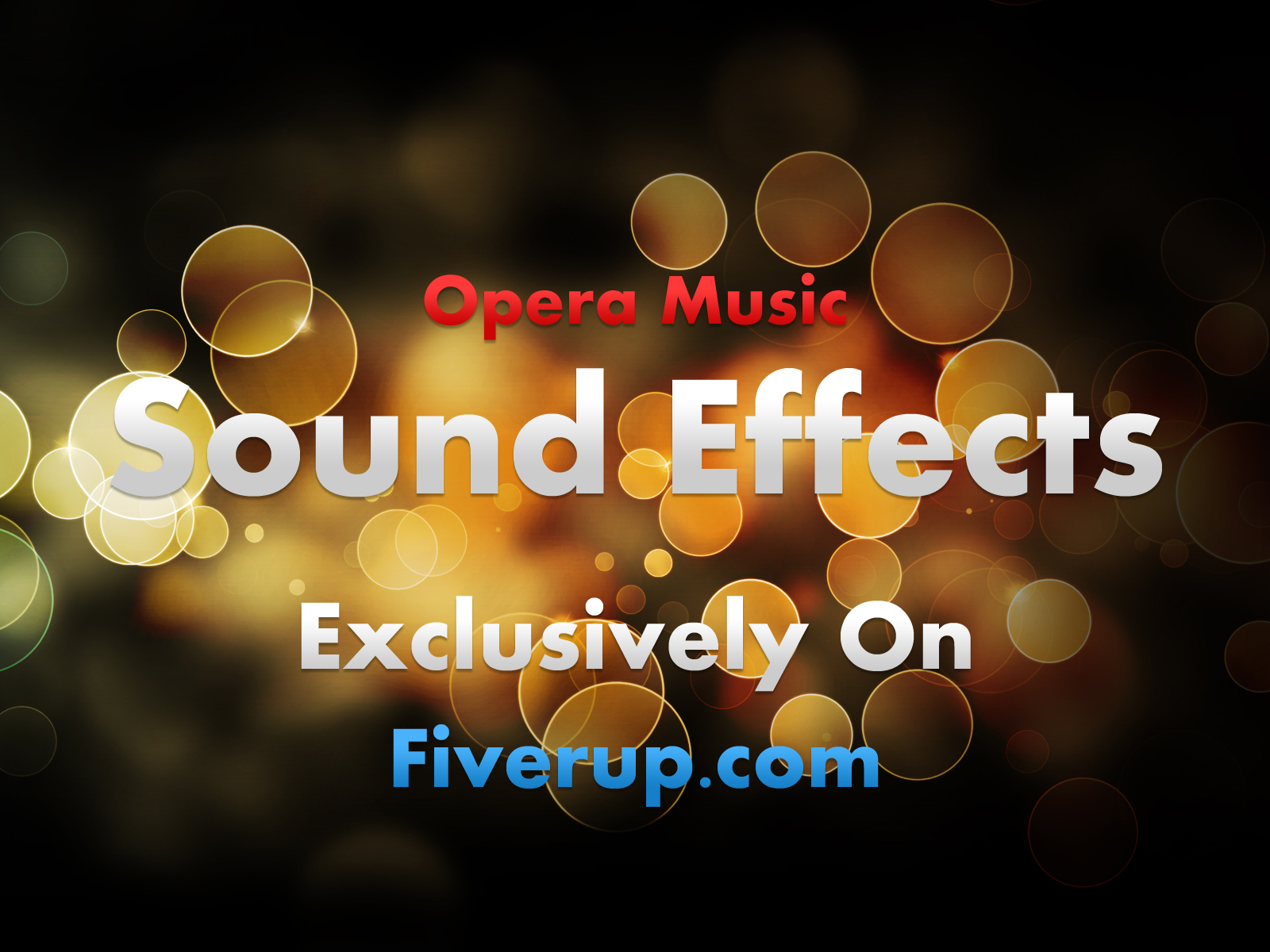 make sound effects for your commercial project