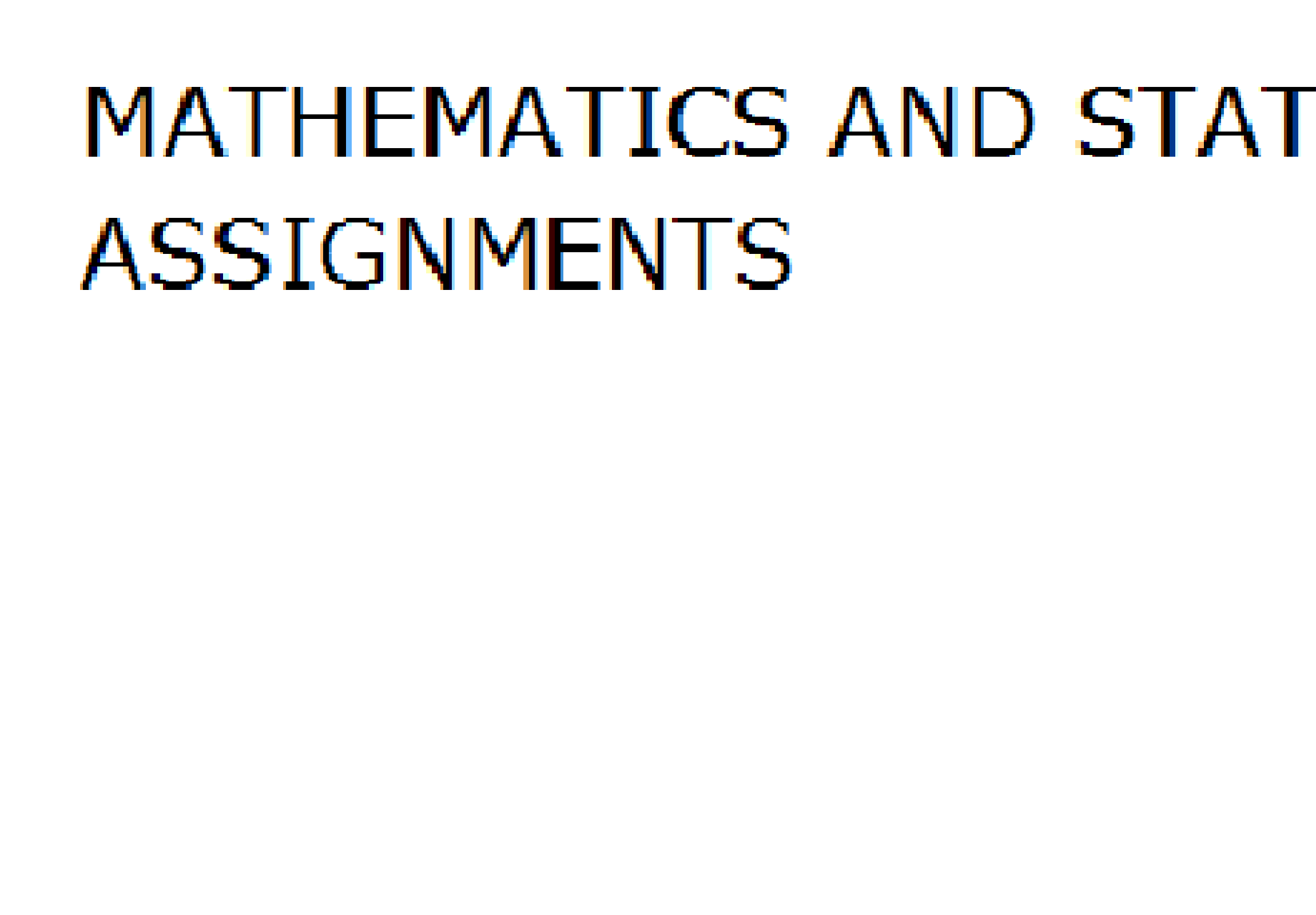 solve your assignments related to mathematics.