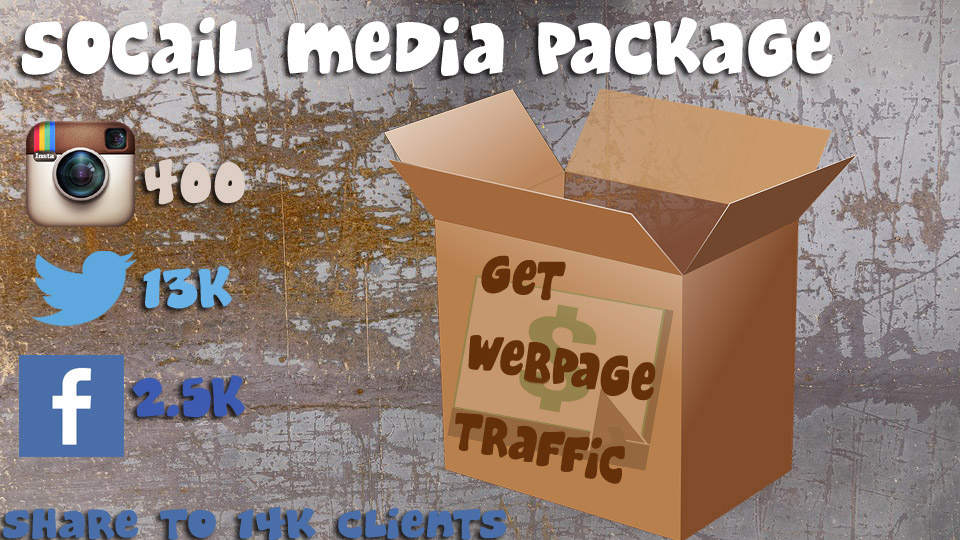 share your page to 14000 followers and market your site