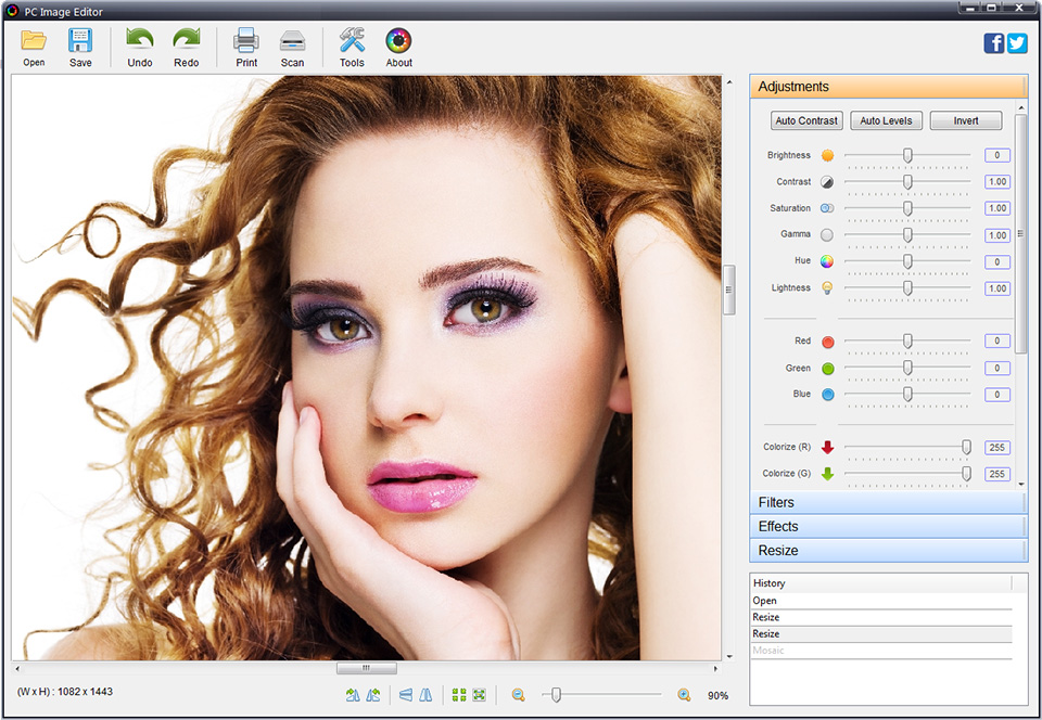 resize crop images pictures photos logo png, jpeg, gif