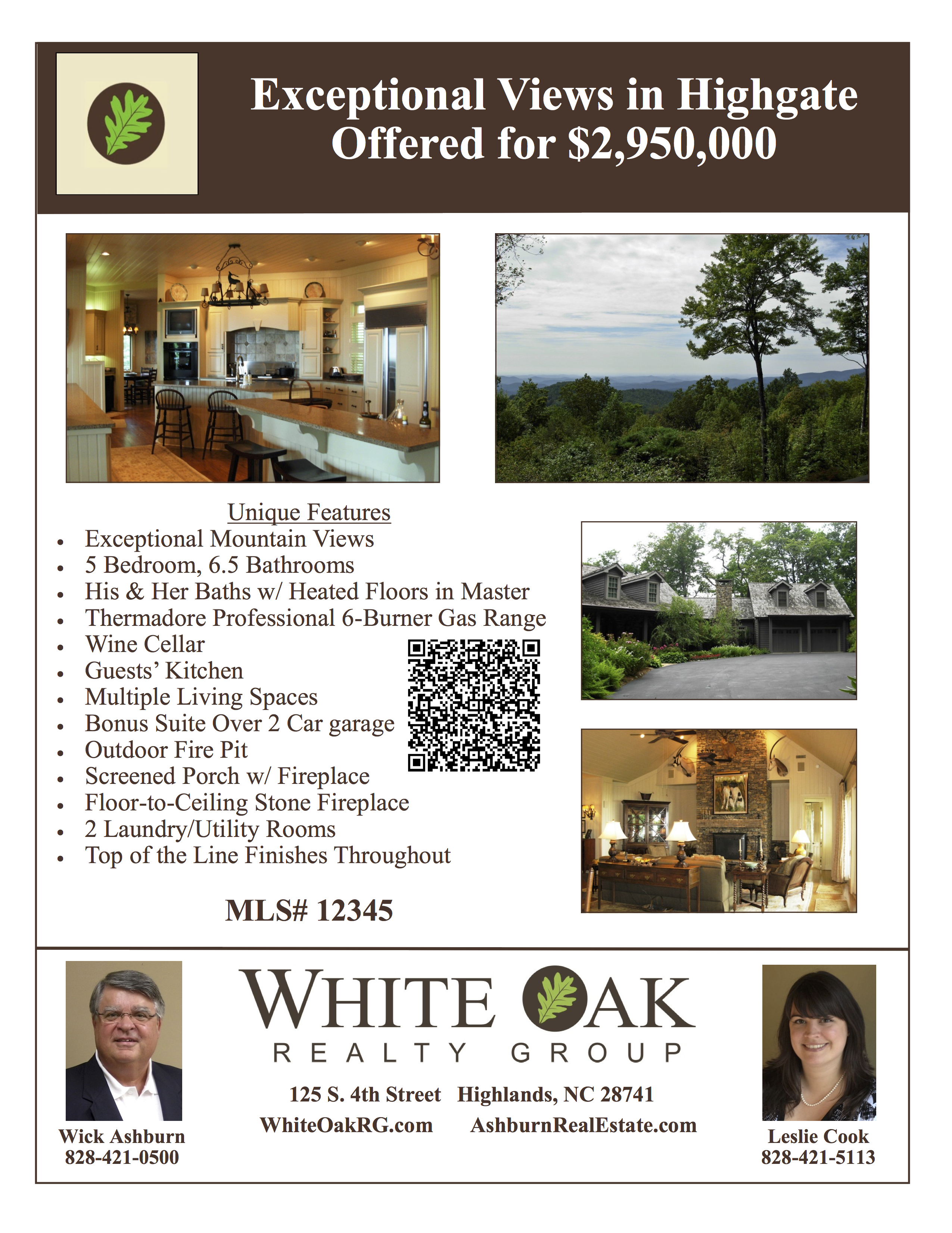 create a real estate property flyer 8.5x11 or smaller